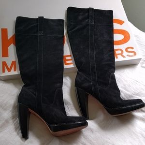 Michael Kors slouchy boots Lucille